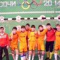 Победители по футболу среди  городов Сибири ( юноши 8-11клас)