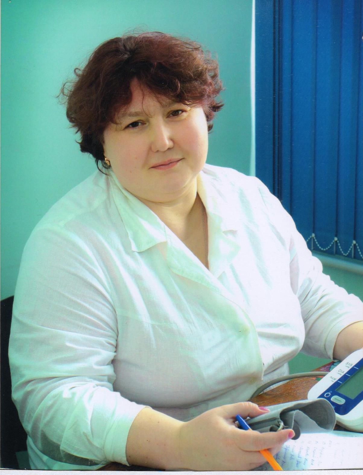 Быргазова Ирина Васильевна - медсестра